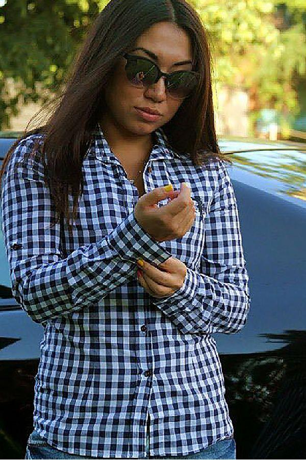 Рубашка женская Pars Polo 744 - фото 1