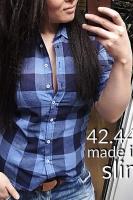 Рубашка женская Pars Polo 746