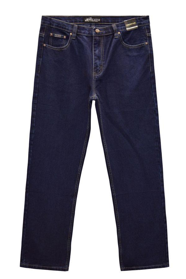 Джинсы мужские Recstar 8617/06 Blue-Black Big Size - фото 1