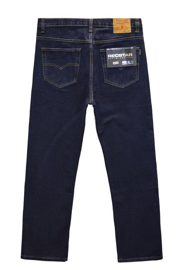 Джинсы мужские Recstar 8617/06 Blue-Black Big Size - фото 2