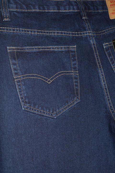Джинсы мужские Recstar 8617/06 Blue-Black Big Size - фото 4