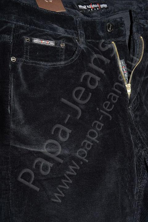 Брюки мужские Koutons KL-8109 Black вельветовые - фото 3
