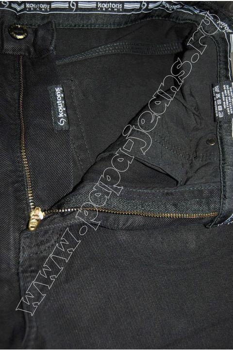Джинсы мужские Koutons KT-08-11-H Black-Black - фото 2