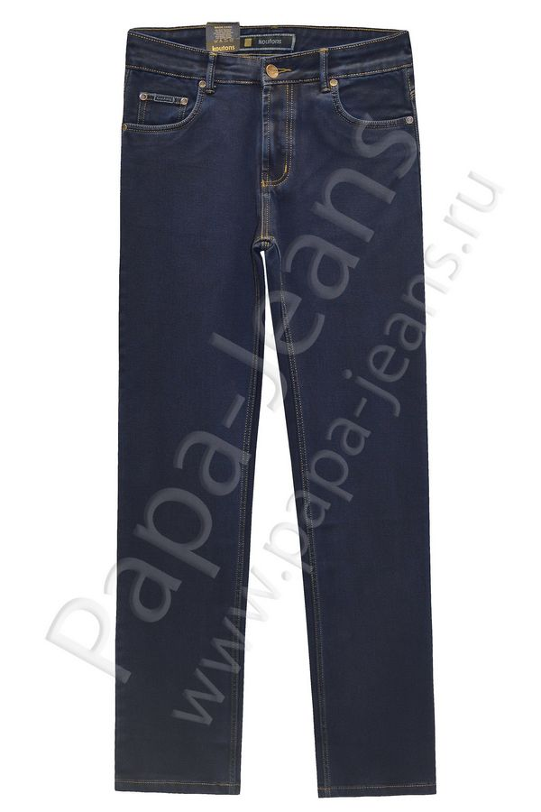 Джинсы мужские Koutons 235-7 Stretch Black-Blue - фото 1