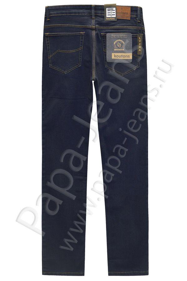 Джинсы мужские Koutons 235-7 Stretch Black-Blue - фото 2