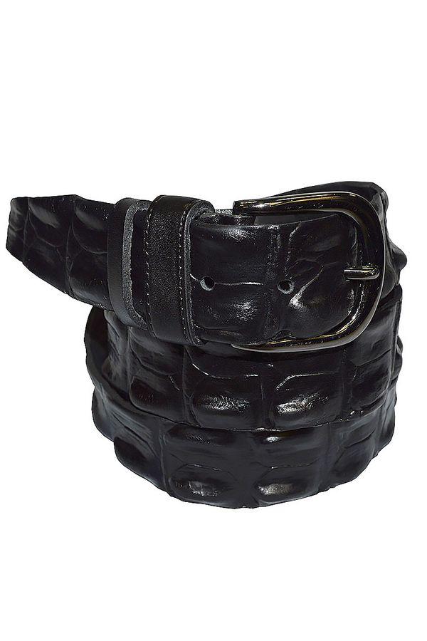 Ремень мужской New Style /NS-260-09/ 40мм черный - фото 1
