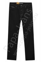 Джинсы мужские Koutons KNL-8009 Stretch Black-Black утепленные