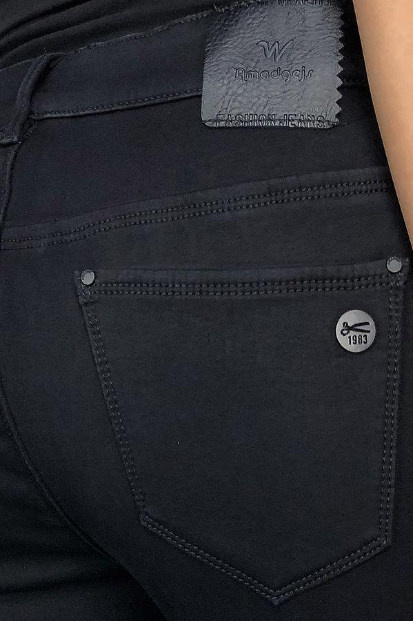 Джинсы женские Amadge 3951 утепленные - фото 4