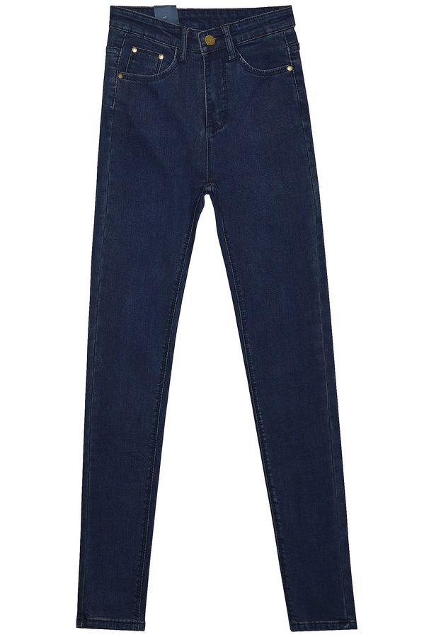 Джинсы женские Fashion Jeans 802-3 утепленные - фото 1