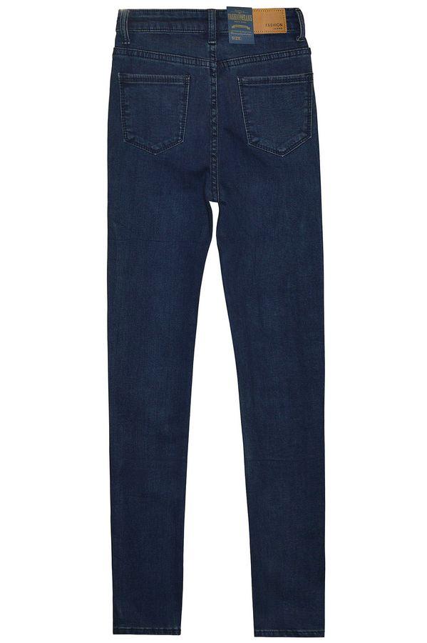 Джинсы женские Fashion Jeans 802-3 утепленные - фото 2