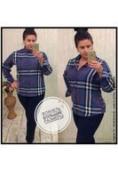 Рубашка женская Pars Polo 150 Big Size