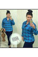 Рубашка женская Pars Polo 151 Big Size