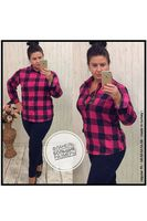 Рубашка женская Pars Polo 154 Big Size