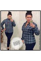 Рубашка женская Pars Polo 155 Big Size