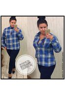 Рубашка женская Pars Polo 156 Big Size
