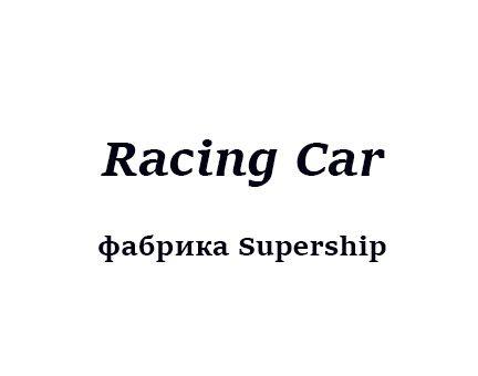 RACING CAR (Robot Fish)