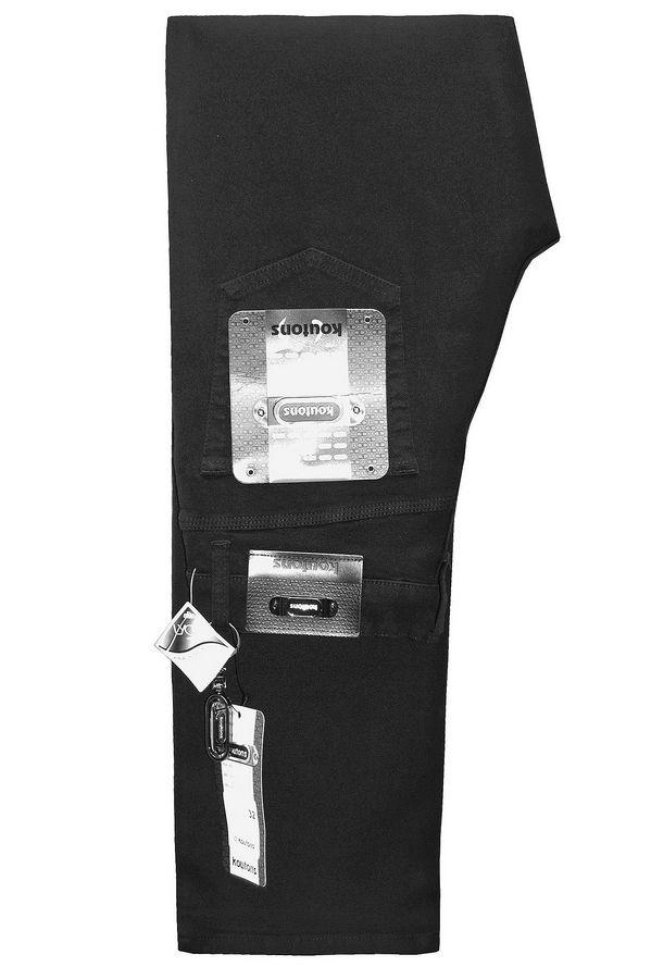 Джинсы мужские Koutons KT-58-M11-H Black-Black Big Size (44-46) - фото 1