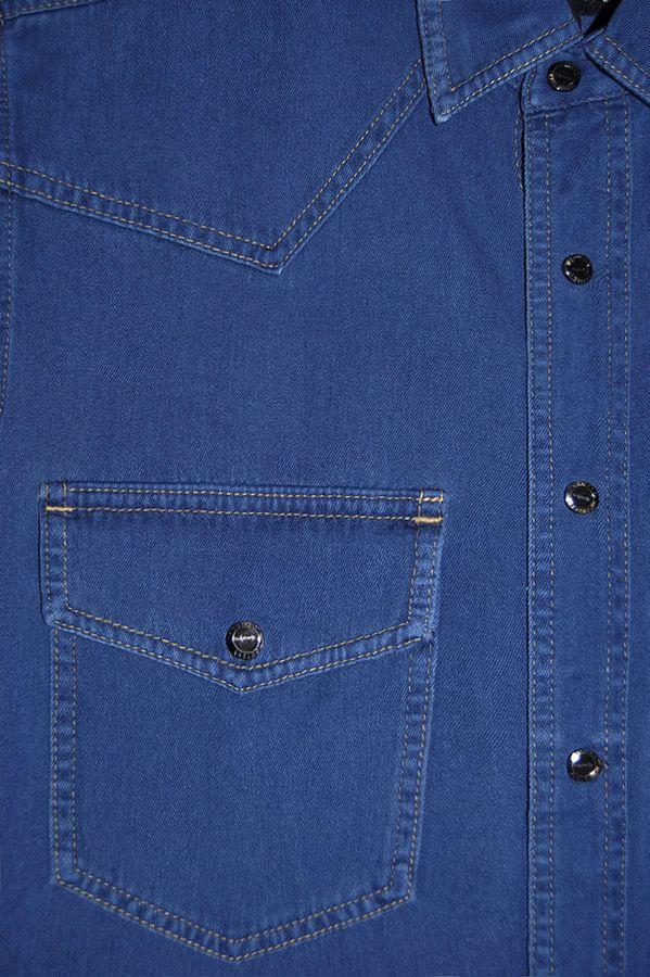 Рубашка мужская Koutons KT 08-01-V26 Light Blue - фото 2