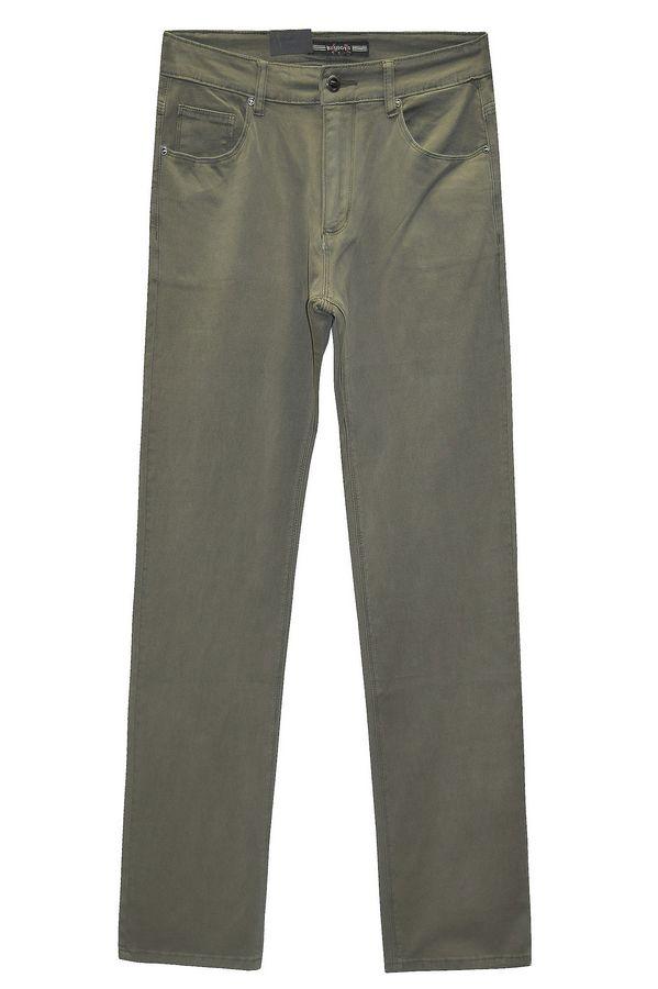 Джинсы мужские Koutons KL-1686 Stretch Army Green - фото 4