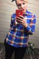 Рубашка женская Pars Polo 719 Big Size