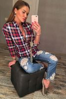 Рубашка женская Pars Polo 503