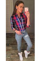 Рубашка женская Pars Polo 508