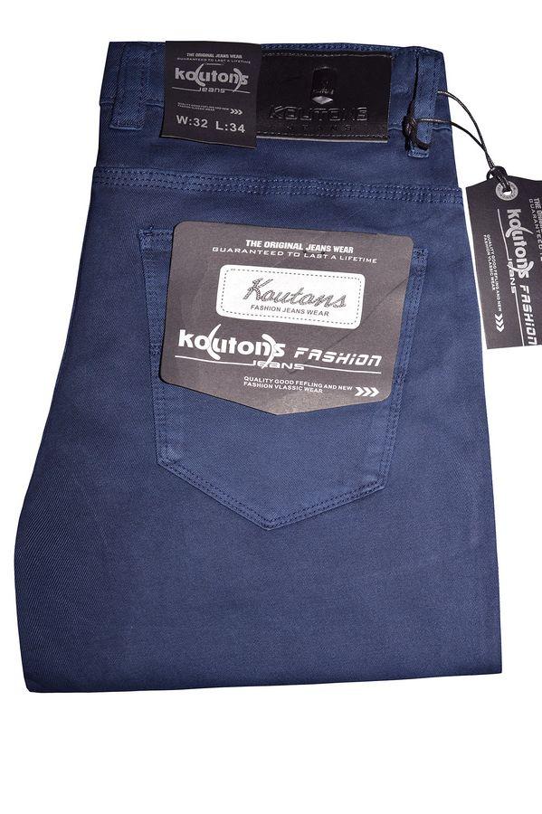 Джинсы мужские Koutons KL-1607 Stretch Blue - фото 1