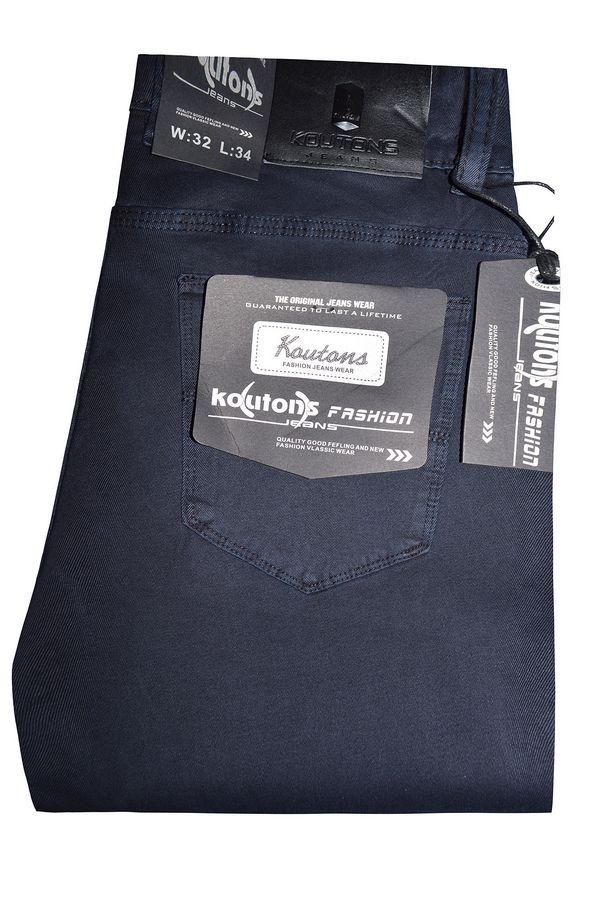 Джинсы мужские Koutons KL-1606 Stretch Blue-Blue - фото 1
