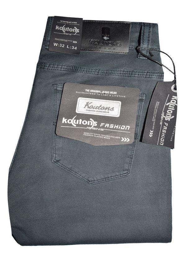 Джинсы мужские Koutons KL-1603 Stretch Grey - фото 1