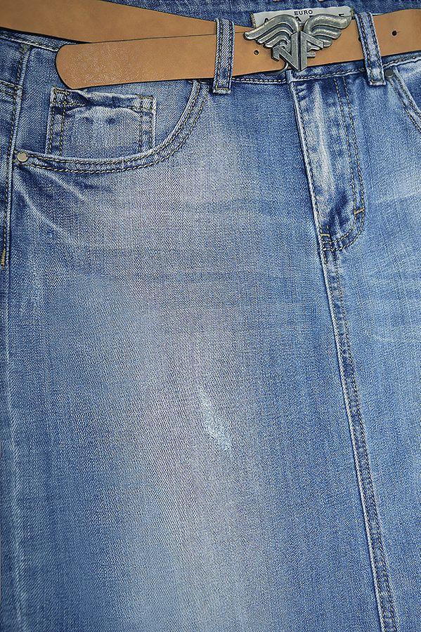 Юбка женская Amadge Q207 с ремнем - фото 3