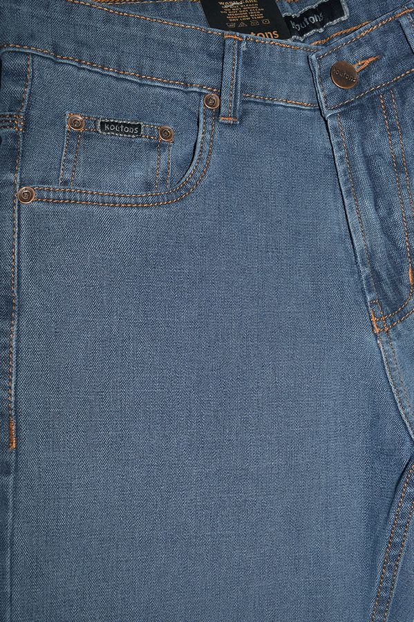 Джинсы мужские Koutons C-562-4 Broken Twill Denim Grey-Blue - фото 3