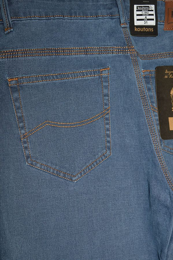 Джинсы мужские Koutons C-562-4 Broken Twill Denim Grey-Blue - фото 4