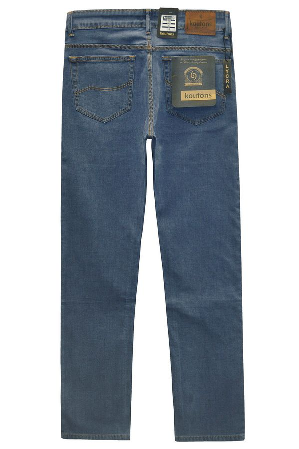 Джинсы мужские Koutons C-562-4 Broken Twill Denim Grey-Blue - фото 2