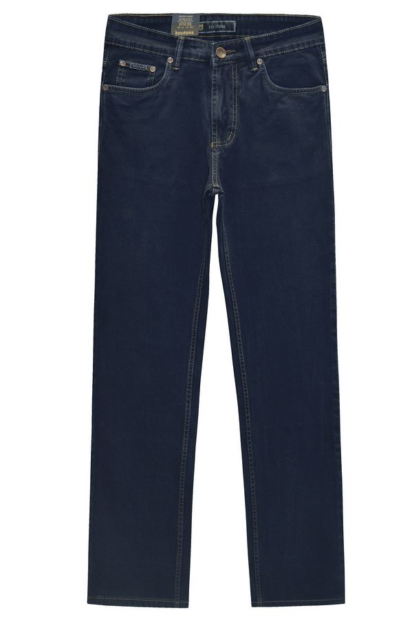 Джинсы мужские Koutons C-562-7 Broken Twill Denim Black-Blue - фото 1