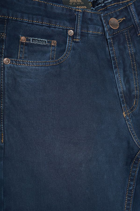 Джинсы мужские Koutons C-562-7 Broken Twill Denim Black-Blue - фото 3