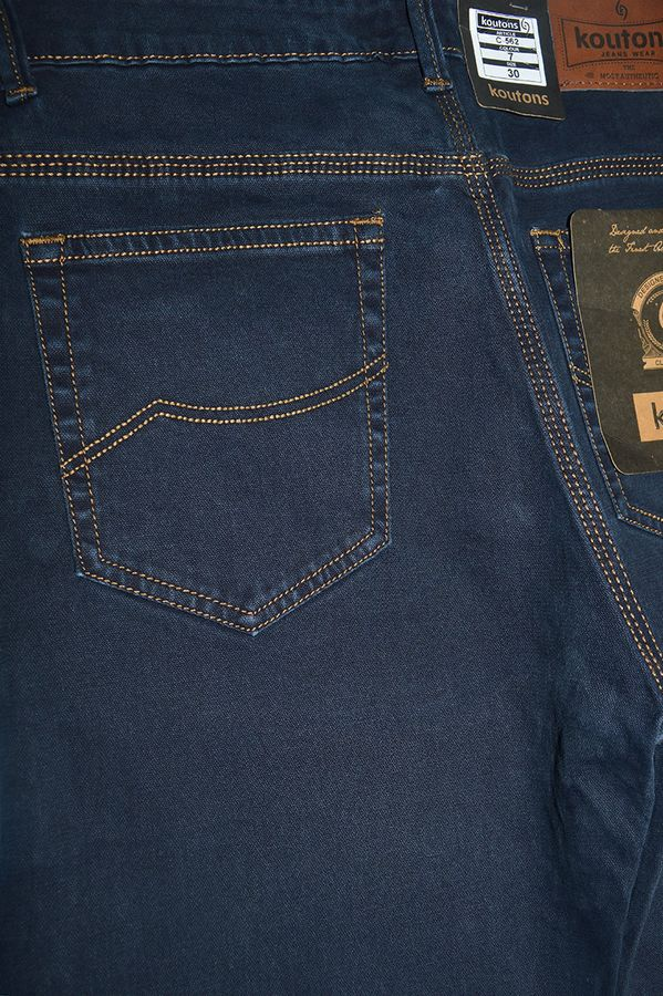 Джинсы мужские Koutons C-562-7 Broken Twill Denim Black-Blue - фото 4
