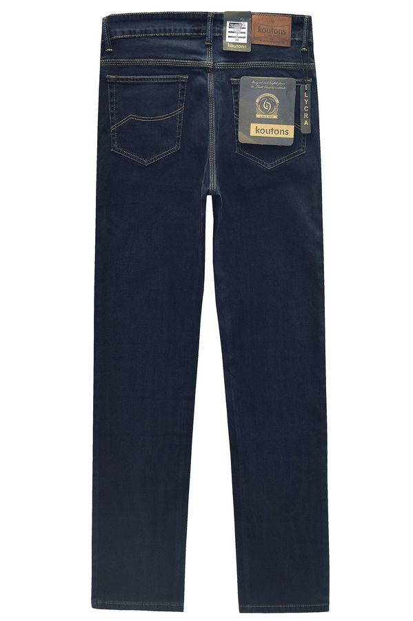Джинсы мужские Koutons C-562-7 Broken Twill Denim Black-Blue - фото 2