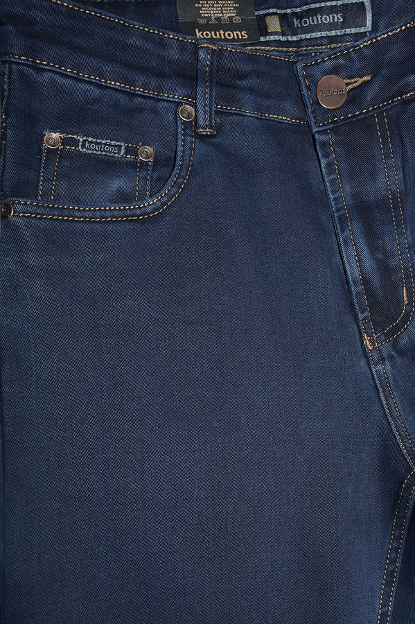 Джинсы мужские Koutons 235-7 Stretch Black-Blue - фото 3