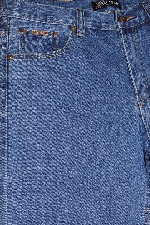 Джинсы мужские Recstar 8668/01 Stown Wash Big Size - фото 3