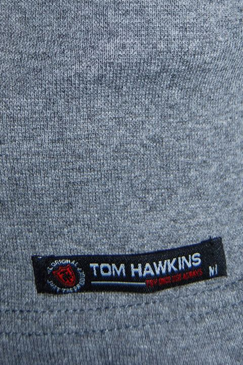 Водолазка мужская Tom Hawkins серая меланж - фото 2