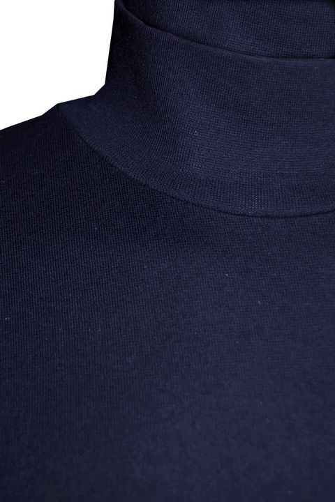 Водолазка мужская Tom Hawkins темно-синяя - фото 2
