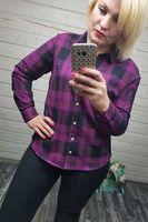 Рубашка женская Pars Polo 822 Big Size