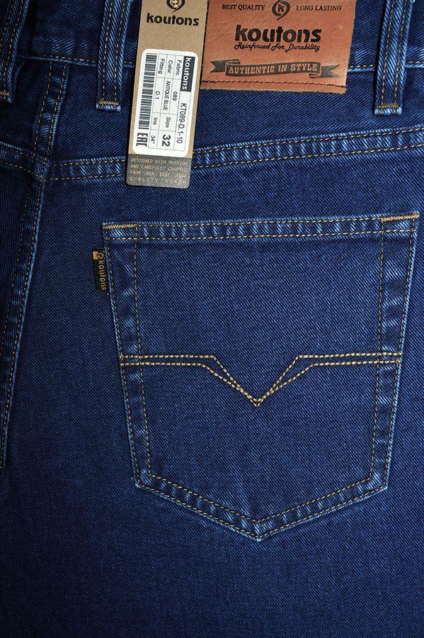 Джинсы мужские Koutons KT089-D.1-10 Antique Blue - фото 4