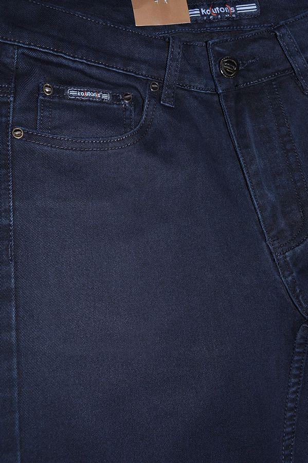Джинсы мужские Koutons KL-8026 Stretch Blue-Blue - фото 3