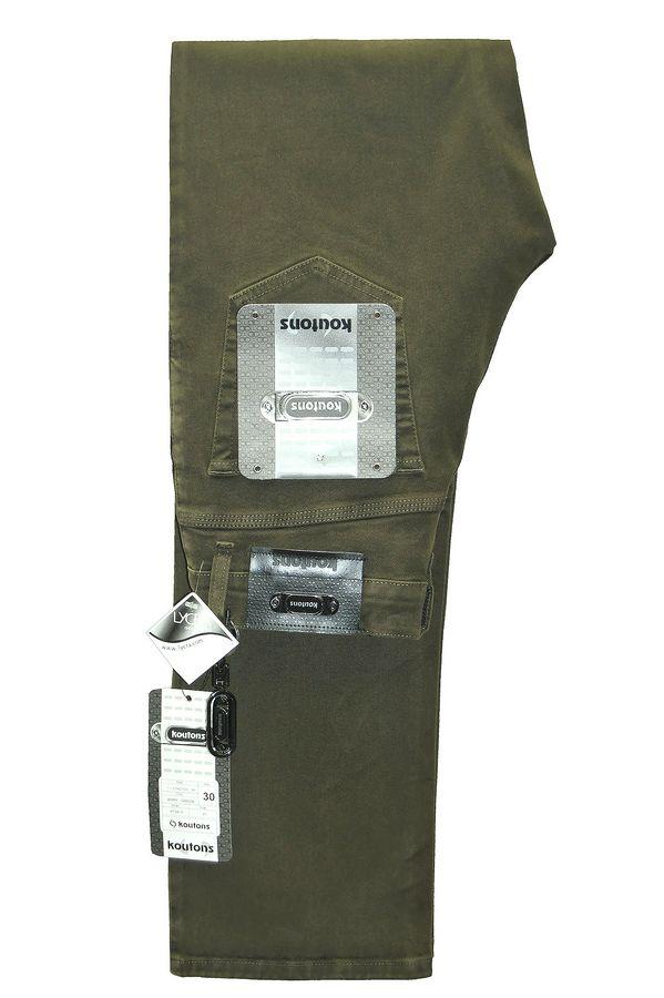 Джинсы мужские Koutons KT-518-M1.1-G.10 Moss Green - фото 1