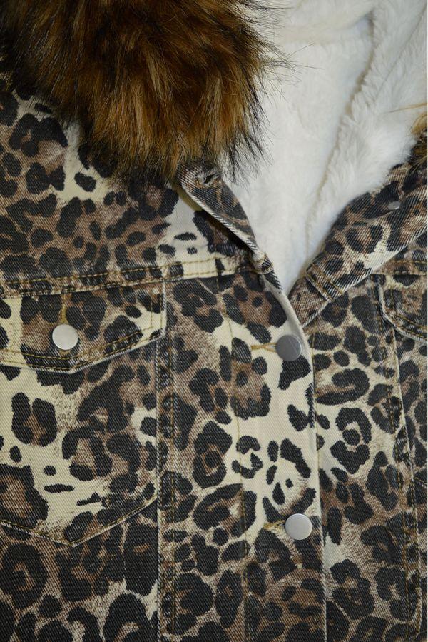 Куртка женская LRZBS 1951 утепленная - фото 3