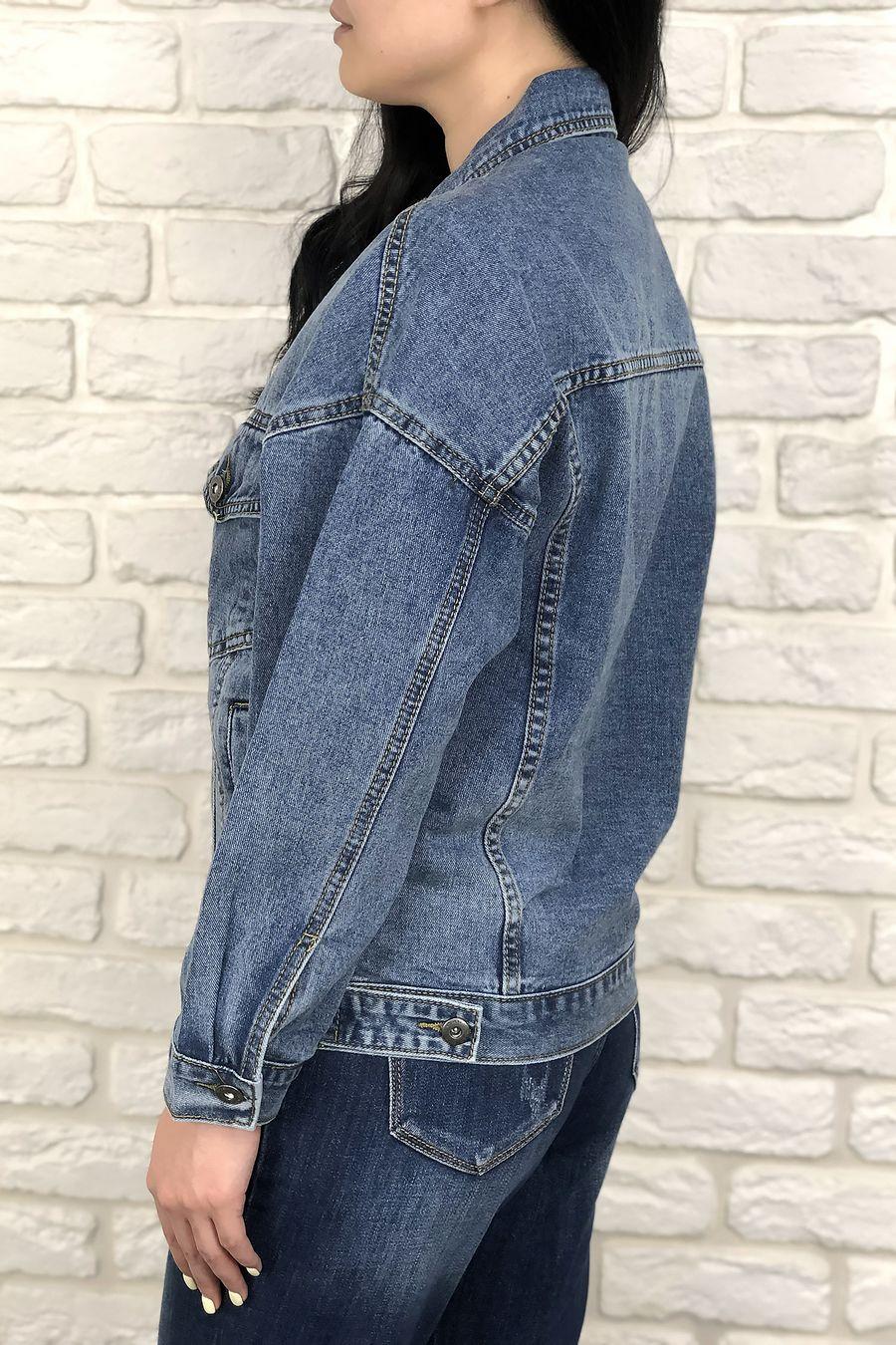 Жакет женский (джинсовка) LRZBS 2023 - фото 3