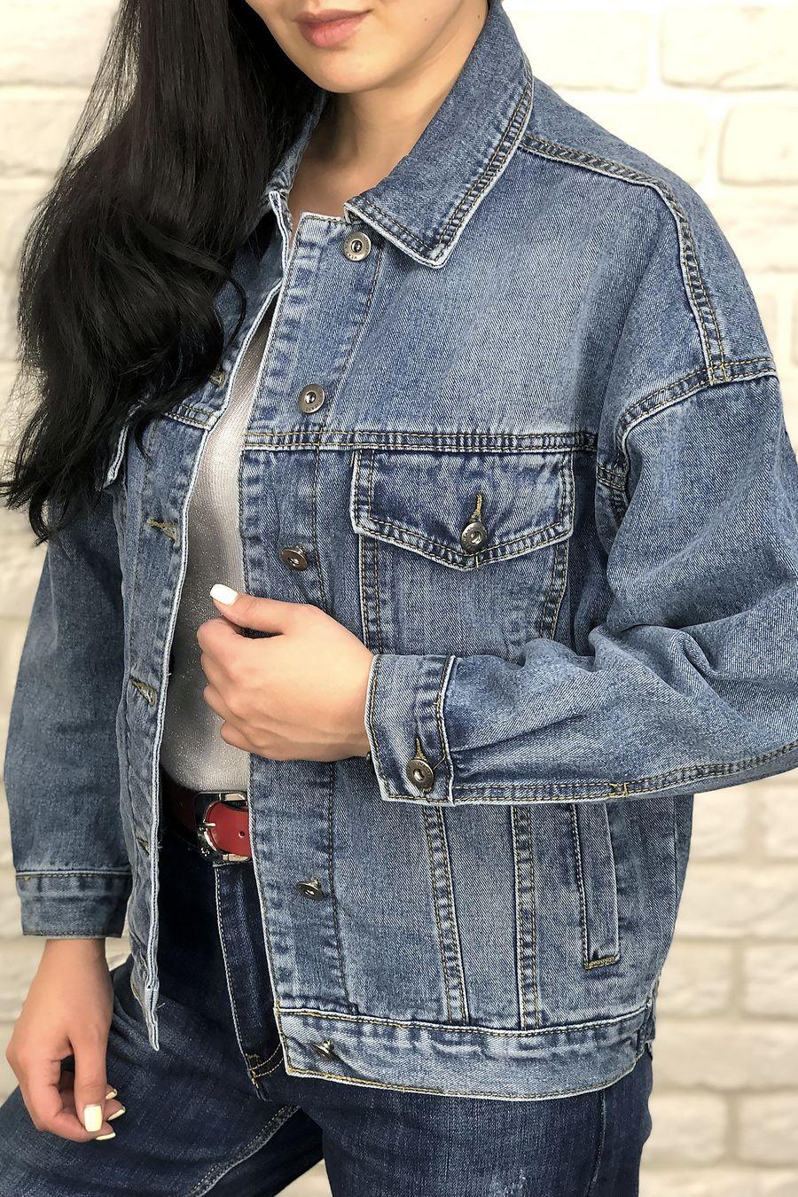 Жакет женский (джинсовка) LRZBS 2023 - фото 2