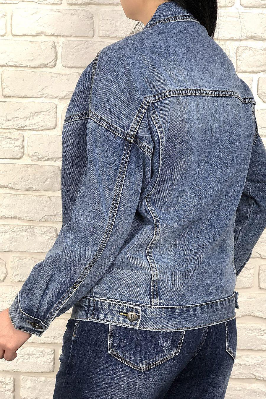 Жакет женский (джинсовка) LRZBS 2023 - фото 4