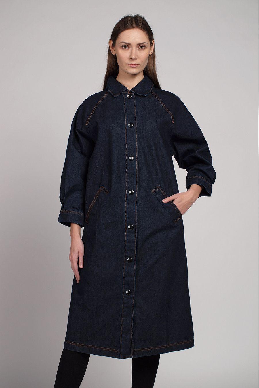 Куртка-френч женская Baccino 6116 джинсовая - фото 1